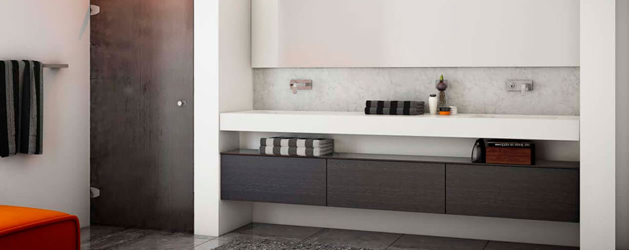 Stilrent design til badet - Model Focus fra HTH